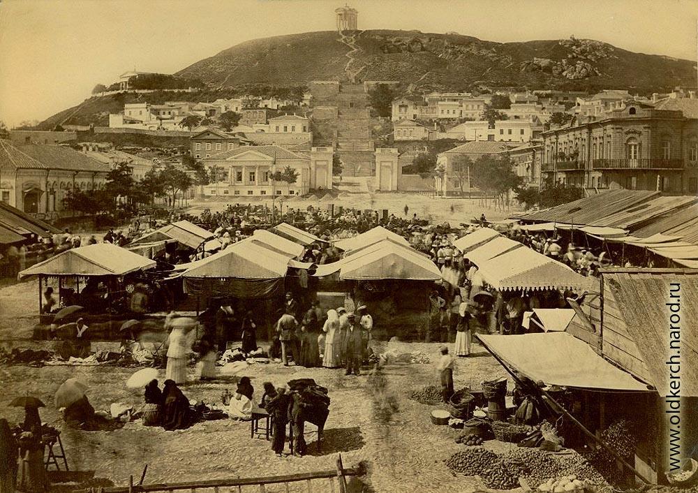 Театральная площадь 100 лет назад